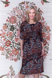 Flattering dresses 50 plus style