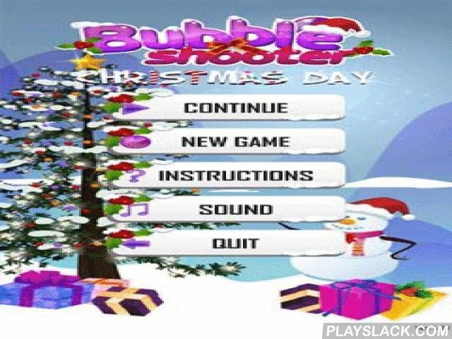 Bubble Shooter Christmas HD  Android Game - playslack.com , Bubble Shooter Christmas HD - magnificent brand-new Year's balls in HD graphics! The game is accompanied by joyous brand-new Year's sound and brand-new Year's adornment! Create joyous feeling, ruining  balls. concepts are the same, join balls of one color by 3 and more and they will be demolished . The balls which are without aid from above also will be demolished !