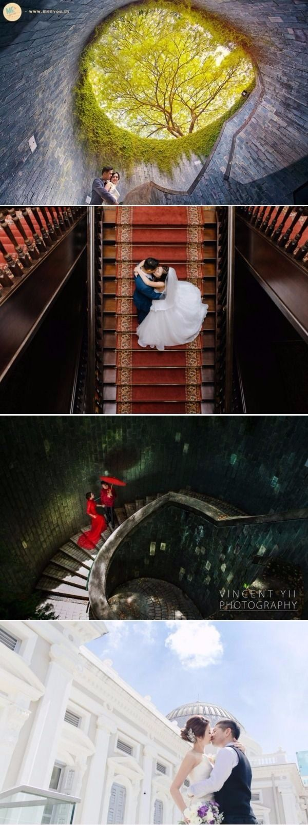 Singapore pre-wedding photoshoot locations: 10 amazing wedding photoshoot locations in Singapore that are filled with so much history. - History and heritage, Elegant, Hotels, Museums, Parks, Shophouses