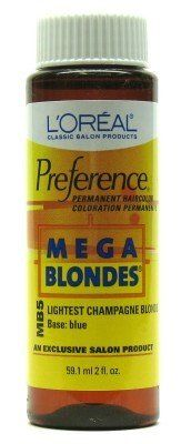 Loreal Preference Mb5 Mega BlondeChampagne Blonde 6 Pack *** Click on the image for additional details.