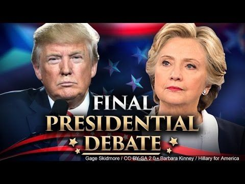 Donald Trump vs Hillary Clinton: Third Presidential debate 2016 summary