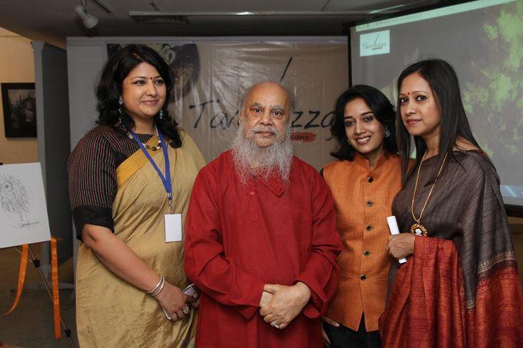 Shuvaprasanna Bhattacharjee presence graced our 2nd Art Show