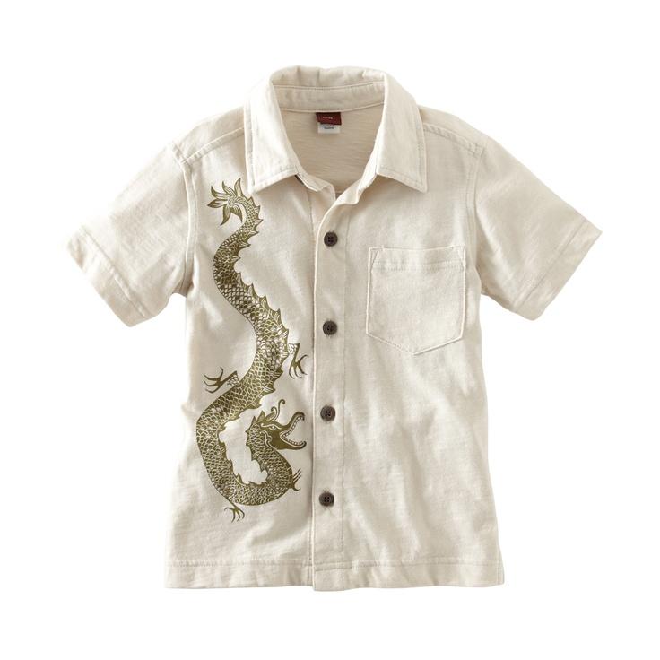 Stone Dragon Camp Shirt