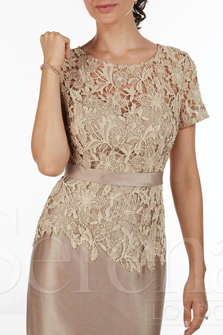 2015 Mother Of The Bride Dresses Sheath High Collar Knee Length Champagne Blue Lace Short Mother Dresses With Jacket