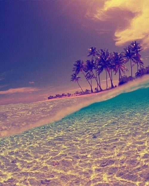 summer - sea - beach - sky - clouds - amazing - holiday~Libby Evans~ Pinterest~