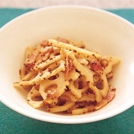 れんこんの洋風きんぴら | 小林まさみさんのきんぴらの料理レシピ | プロの簡単料理レシピはレタスクラブニュース