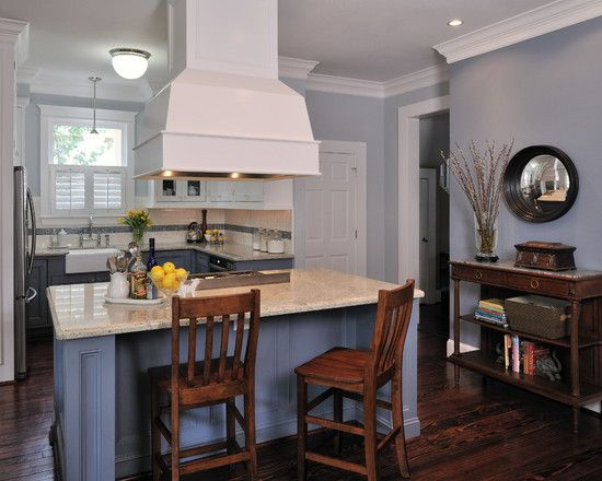 Sherman williams paint walls sw 7071 gray screen for Blue gray paint for kitchen
