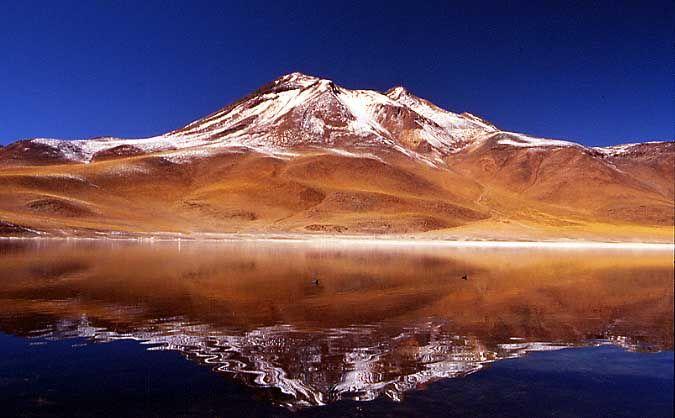 Parinacota , Volcan