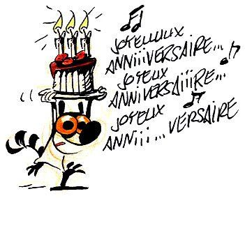 Cartes d'anniversaire humour
