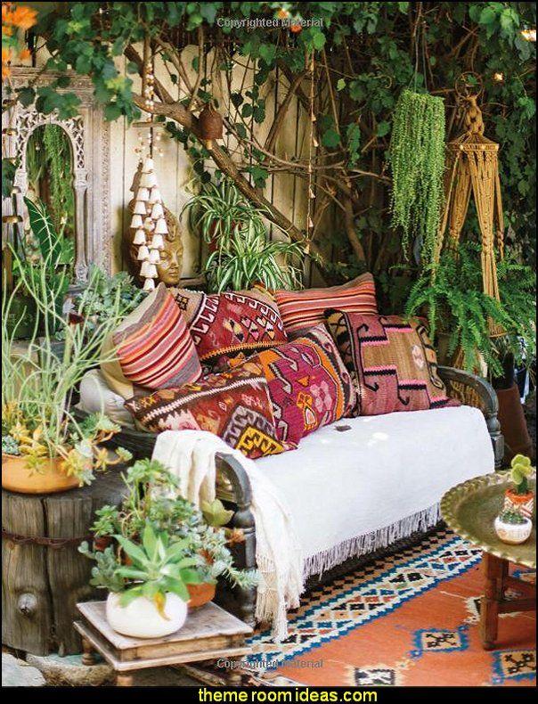 14+ Gypsy boho living room trends
