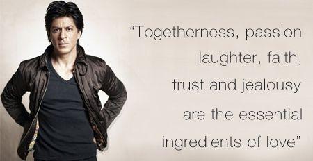Shahrukh khan quotes