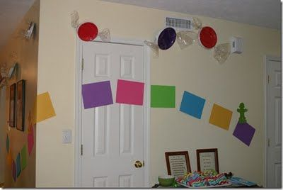 Candy land game room decorations google search home for Candyland bedroom ideas