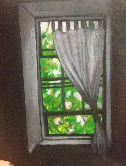 threw the window