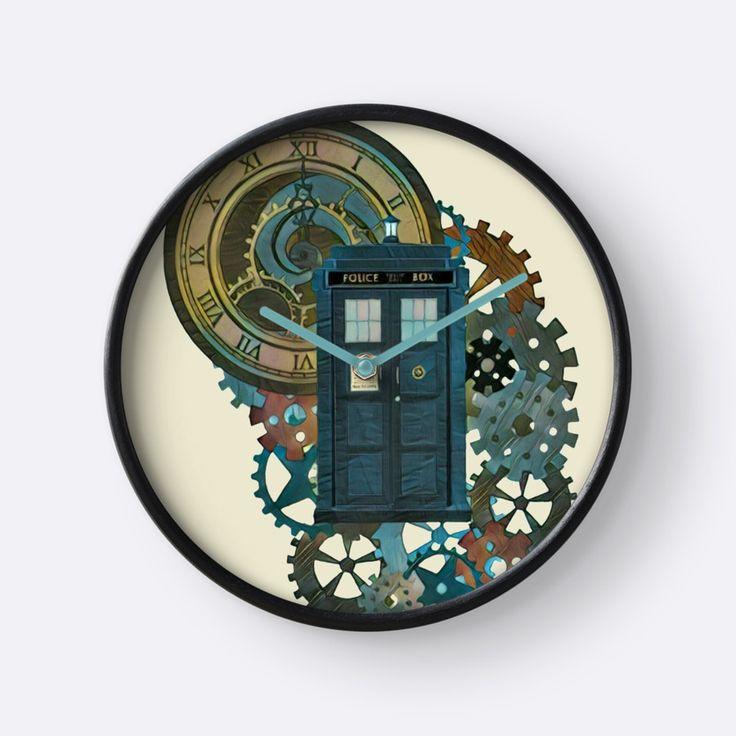 TARDIS Art Doctor Who  by Alondra