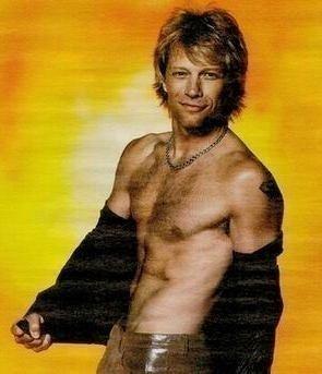 Jon Bon Jovi--this is for Theressa!