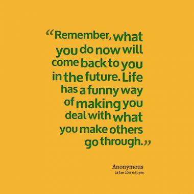 Indeed it does!  #Karma