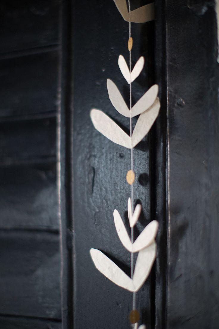 MUSKHANE Winter 16/17 - foliage garland
