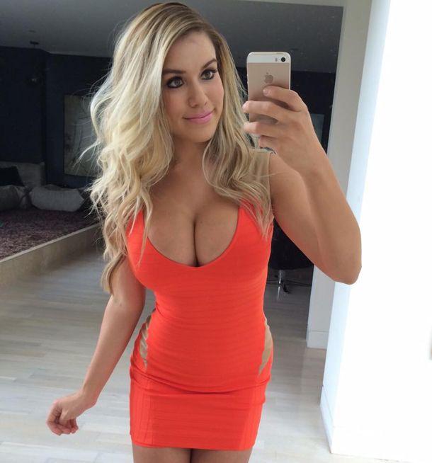 Hot women tight dress big tits