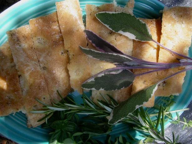 Focaccia, Herbs and Recipe on Pinterest