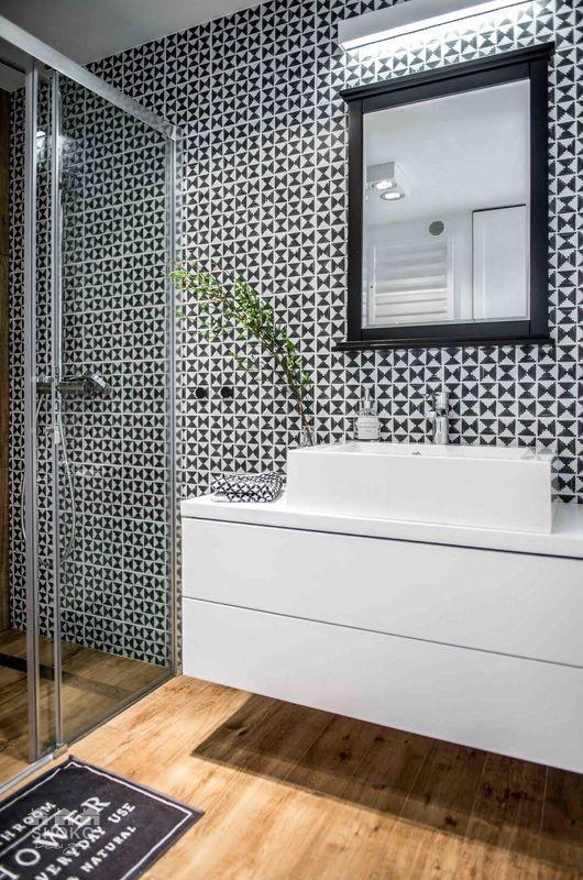PROJEKTY - SHOKO DESIGN | tiles by VIVES Ceramica | Wilder Sombra 20x20 cm.