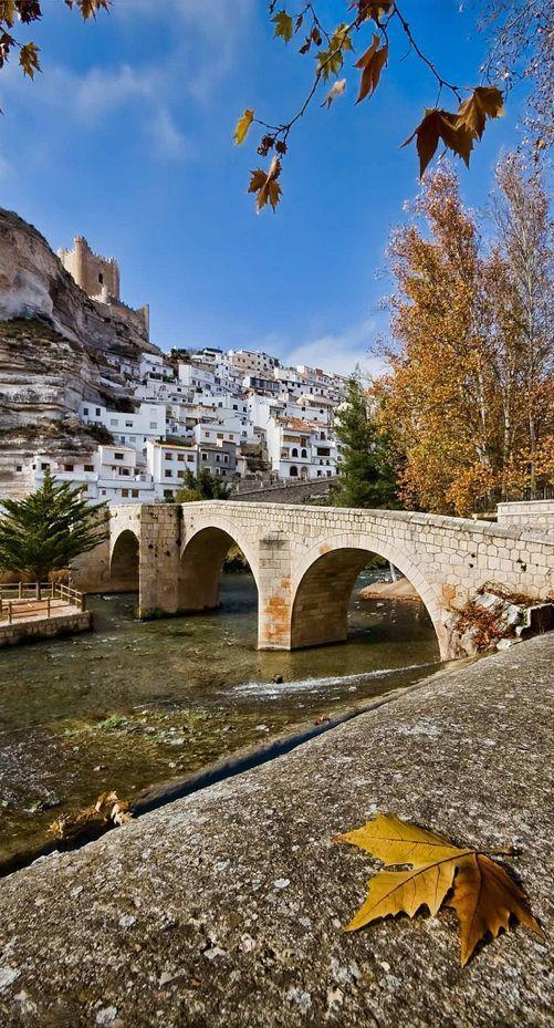 Alcala del Jucar - Albacete, Spain                              …