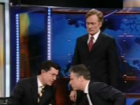 "Conan vs Colbert vs Stewart - ""Late Night Fight"" Trailer - an epic trailer of the fight between the three most awesome names in talk shows."