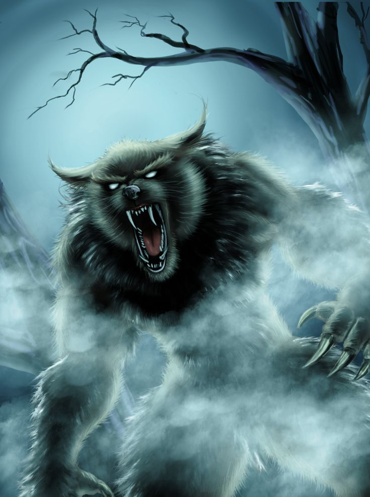 zack lived in constant danger because of beast called lycanthrope a strong werewolf that was killing - Halloween Werewolf