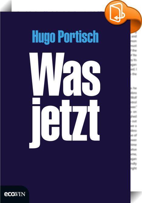 Was jetzt    :  Die Welt ist aus den Fugen. Die Lage ist ernst. Die Frage scheint berechtigt: Ist Europa noch zu retten? Unsere Währung, der Euro? Wer hat eigentlich diese EU erfunden? Wer und weshalb? Ist man uns da nicht eine Menge Antworten schuldig geblieben?  Die Frage stellte sich auch Hugo Portisch. Aber er kennt die Antworten und bleibt sie uns nicht schuldig.