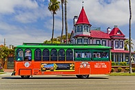 """Known as """"America's Finest City"""", San Diego offers a wide array of things to see and do for visitors of all ages. Let Old Town Trolley show you California's second largest city, where blue skies, exciting attractions and 70 miles of beaches come together to create a vacationer's paradise."""