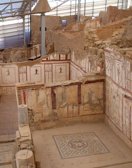 The Terrace Houses, Ephesus. Read about the history of this amazing biblical place. http://www.patheos.com/blogs/markdroberts/series/ancient-ephesus-and-the-new-testament/