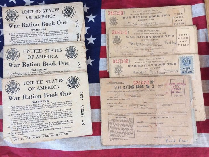 Vtg WW2 Ration Stamps Books Dallas Texas Stearn Family  | eBay