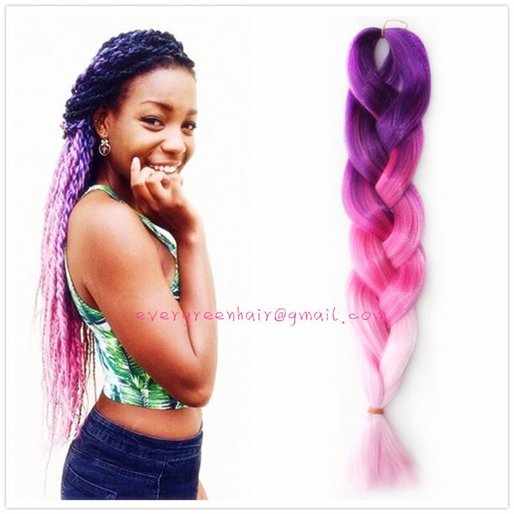 Crochet Box Braids Ombre : ... Braids on Pinterest Faux locs, Crochet braids and Ombre box braids