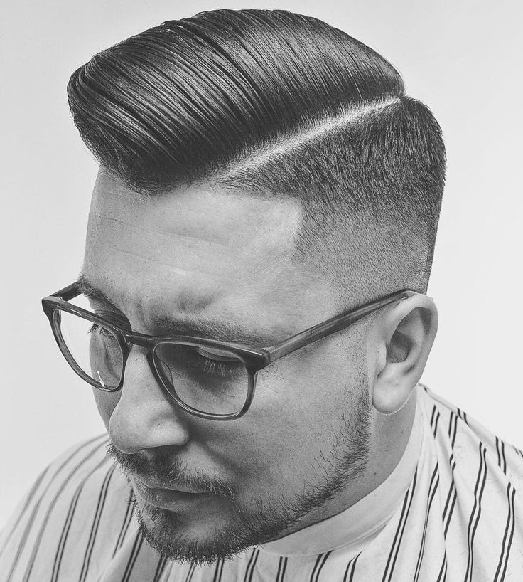 Originally popular in the 1950s, the pompadour has since been been updated for the 21st century. The signature height and roll are still there but there are pompadour fade haircuts with every type of fade