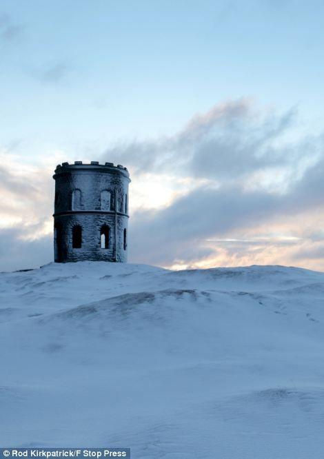 Grinlow Tower, Victorian Folly, Near Buxton, Derbyshire
