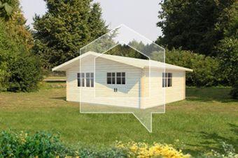 Ten domek może stać się nie tylko wspaniałym miejscem do wypoczynku, ale także pomieści dużo Państwa przyjaciół.