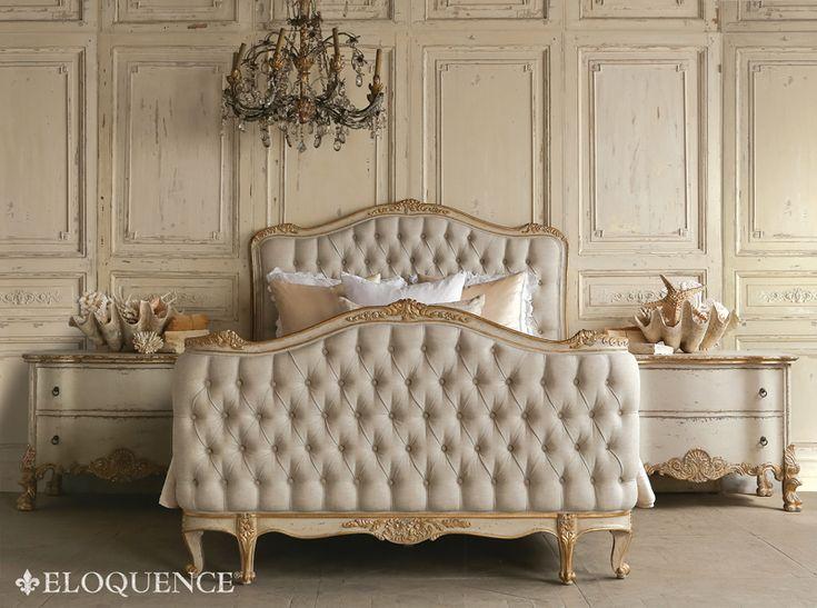 Eloquence Louis XV Style Antique Reproduction Sophia Bed