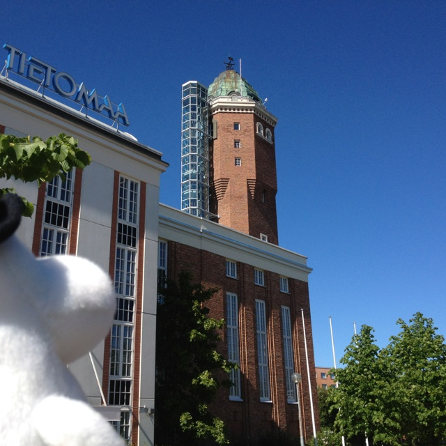 Must be quite a view from up there. #MoominsinOulu