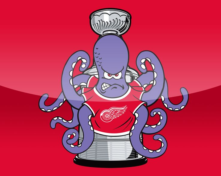 Detroit Red Wings Octopus All Done Five Bucks Quot Pavel