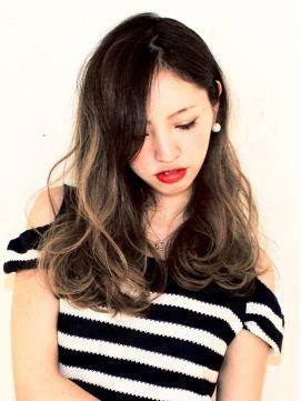 NOT黒髪!'地毛⇒グラデーションカラー'でアンニュイな外国人風ヘアカラー♩|MERY [メリー]
