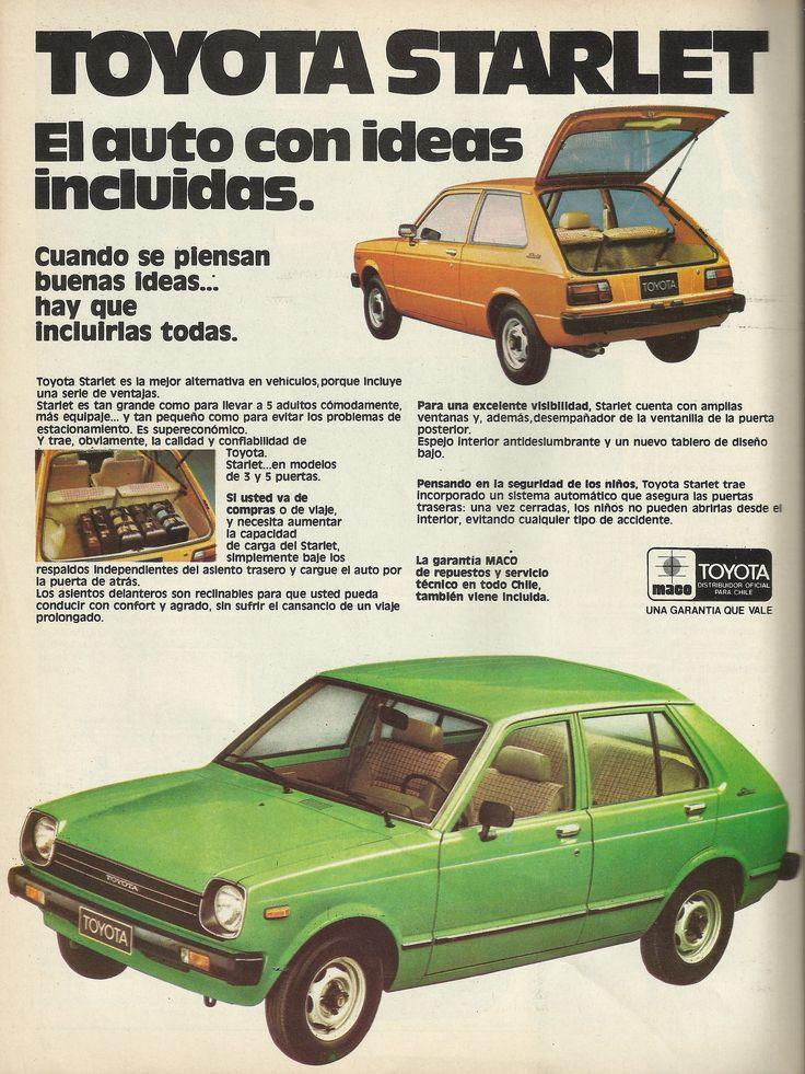 https://flic.kr/p/wo8ao3 | Toyota Starlet | Revista Ercilla