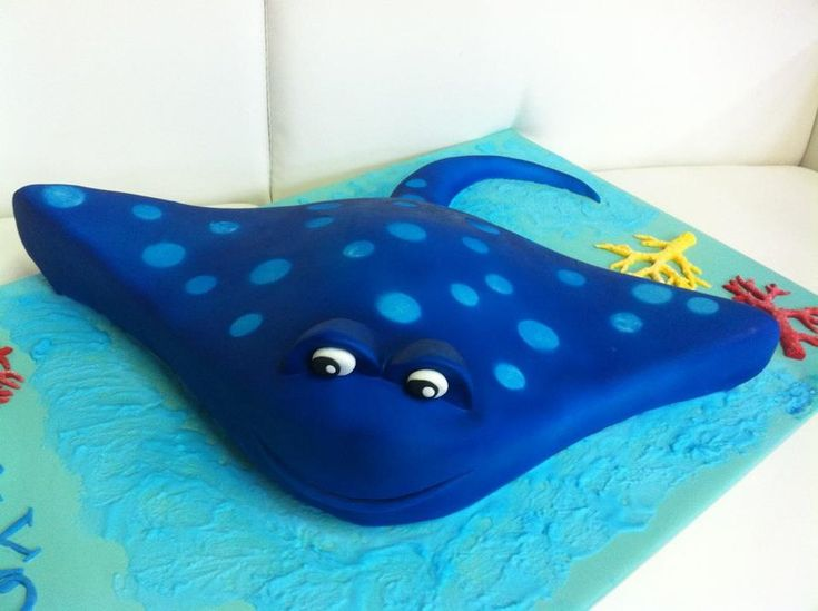 Stingray Cake Cakes For The Big Boys Amp Little Boys
