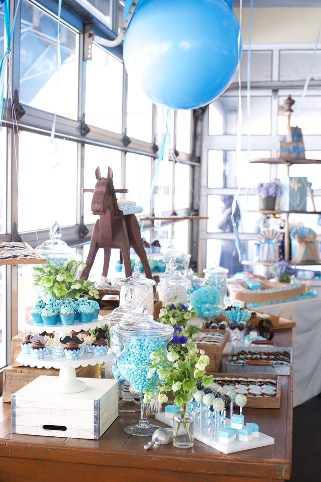 Baby shower - candy bar
