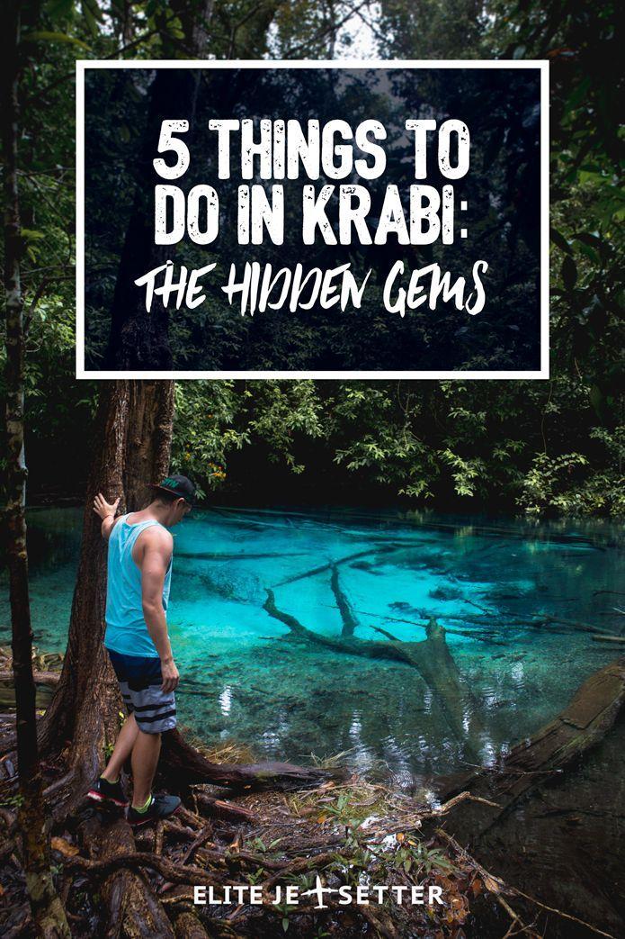 things to do in krabi thailand | hot springs in thailand | hot springs in krabi | natural beauty krabi | thailand travel | exploring thailand | exploring paradise in Krabi | sightseeing in Krabi via @elitejetsetters