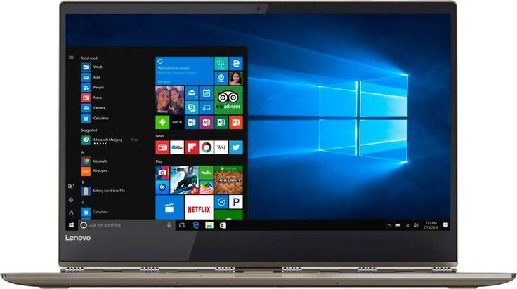 "Lenovo - Yoga 920 2-in-1 13.9"" Touch-Screen Laptop - Intel Core i7 - 8GB Memory - 256GB Solid State Drive - Bronze"