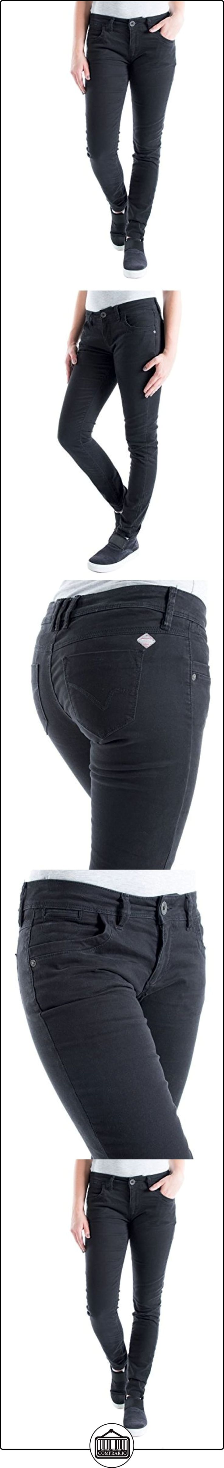 Timezone Aureliatz 5-Pocket Pants, Pantalones para Mujer, Gris Oscuro, W25  ✿ Vaqueros ✿