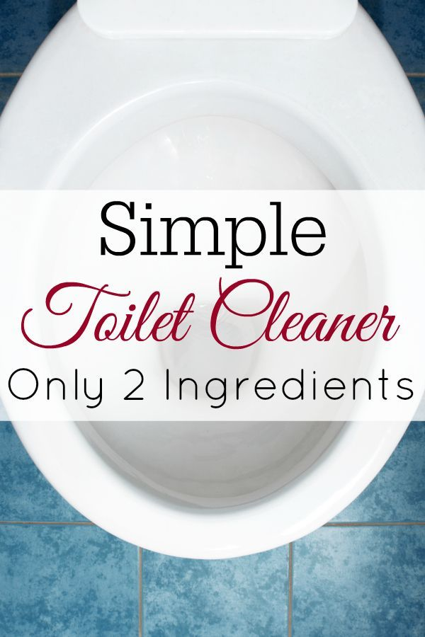 This Simple Toilet Bowl Cleaner Only Uses 2 Natural Ingredients To Make Diycleaner In 2020 Homemade Cleaning Recipes Homemade Cleaners Recipes Baking Soda Cleaning