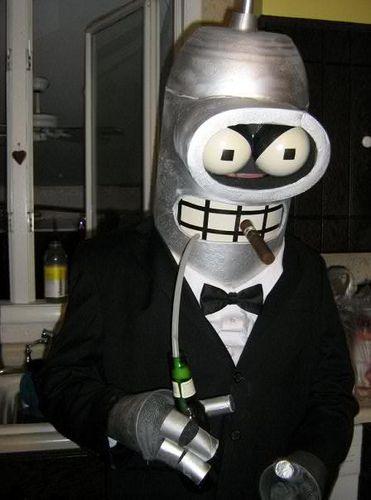 Bender costume, dos   Flickr - Photo Sharing!
