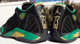 A Pair of Ray Allen's Air Jordans That You've Never Seen