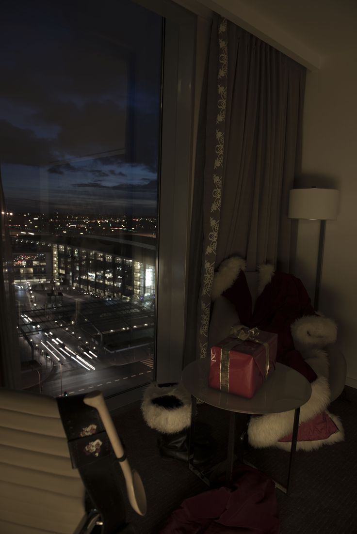 A nice view over Copenhagen Airport from Hotel Hilton... #CPHchristmas13