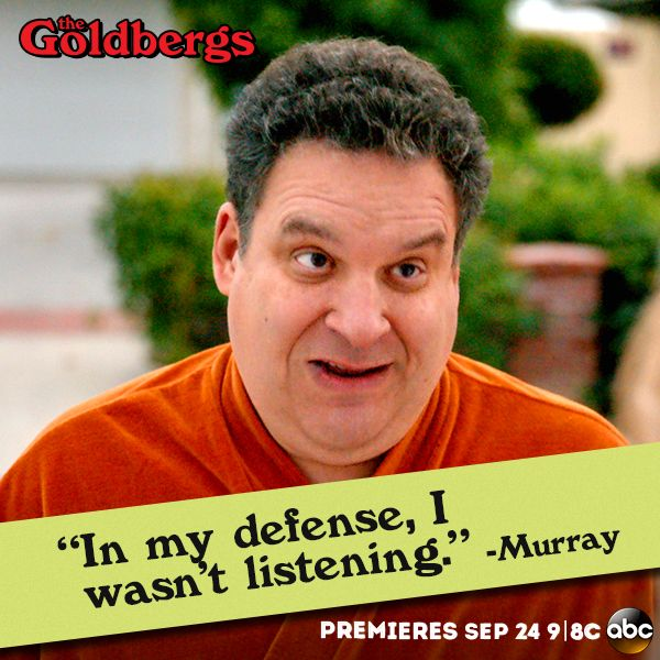 #Murray #TheGoldbergs
